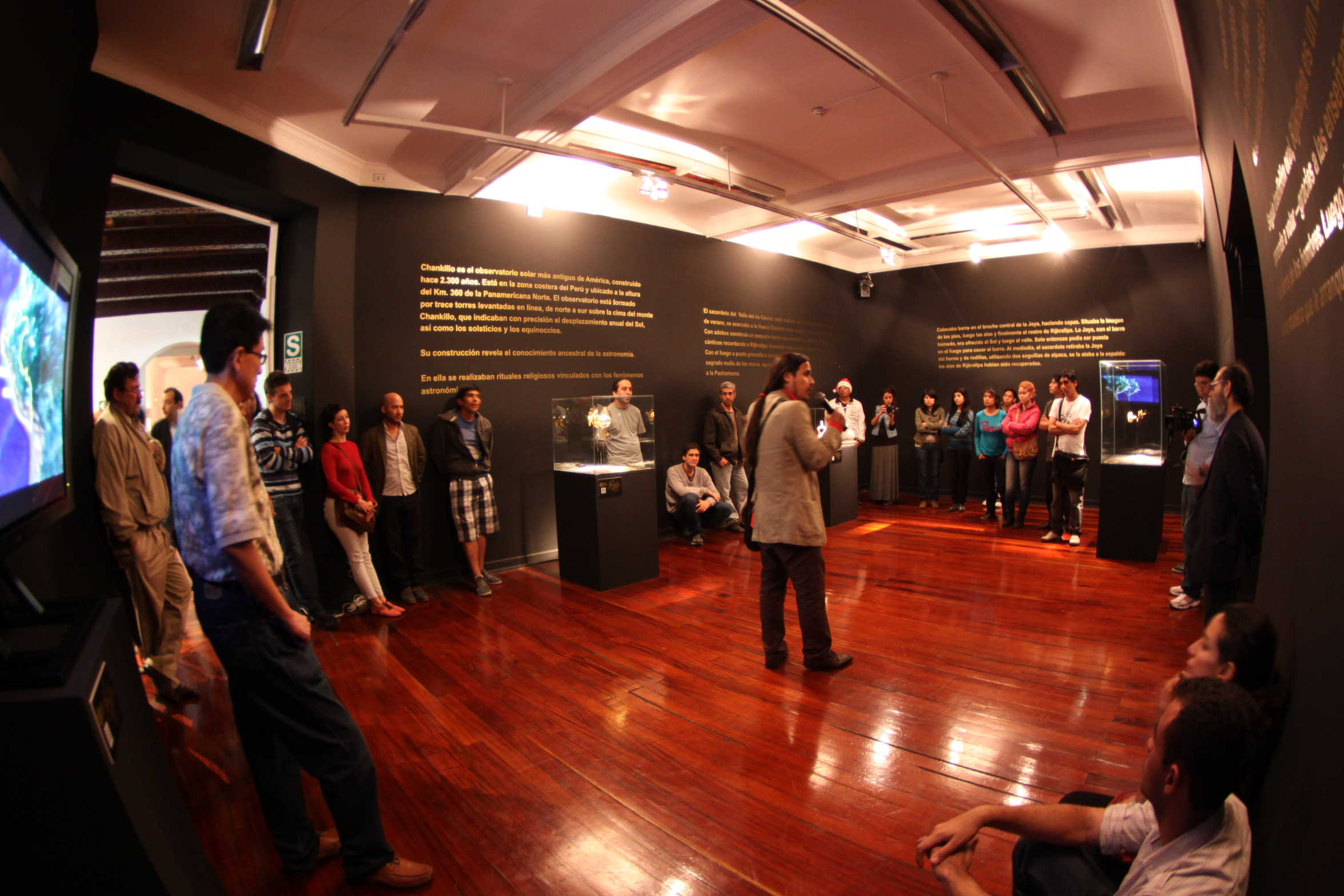 Visit of the exhibition