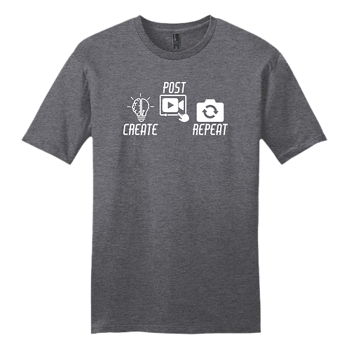 Create Post Repeat Graphic - Charcoal