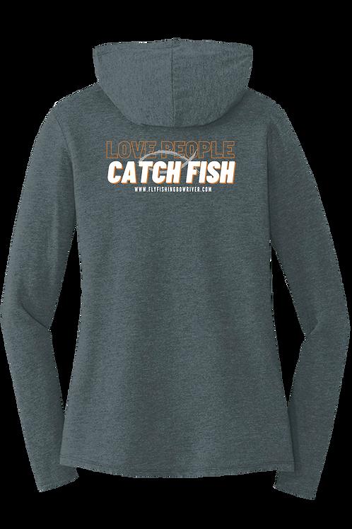 Love People Catch Fish Female Hoodie