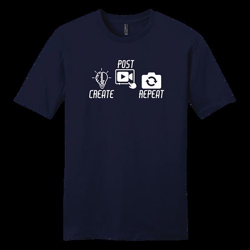 Create Post Repeat Graphic - Navy