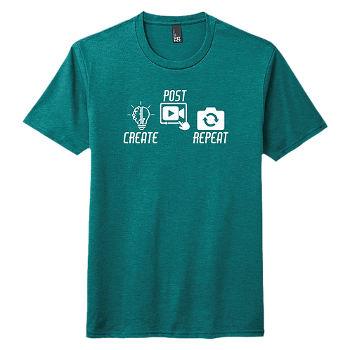 Create Post Repeat Graphic - Teal