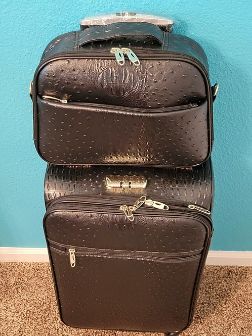 2pc Travel Set - Black