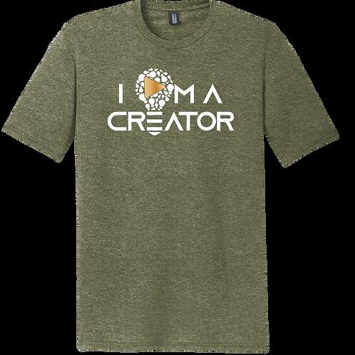 I AM A CREATOR -Military Green
