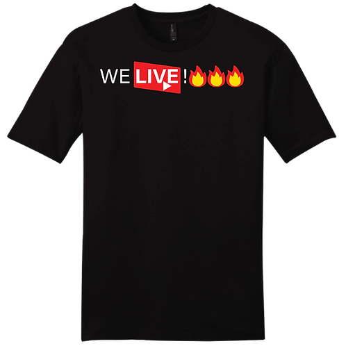 We Live! - Black