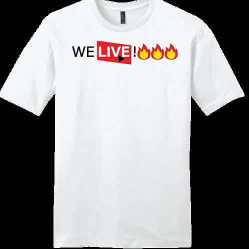 We Live! - White