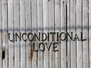 Unconditional Love Is…