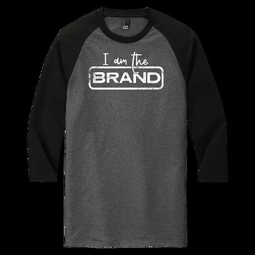 I Am The Brand - Baseball T