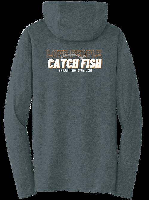 Love People Catch Fish Hoodie