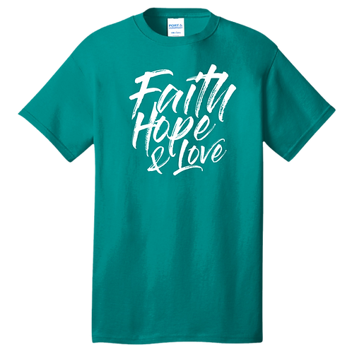 Finding Faith, Hope, and Love In a Broken World Shirt