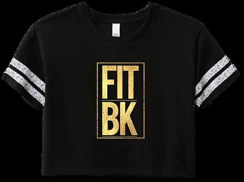 FITBK Crop Tee - Black