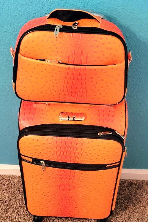2pc Travel Set - Orange
