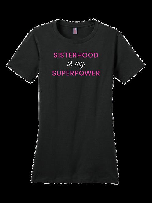 Sisterhood T-Shirt - Black