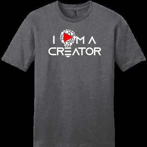I AM A CREATOR - Charcoal Gray