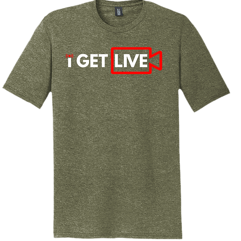 I GET LIVE -Military Green