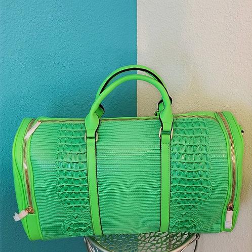 Weekender Bag - Lime Green