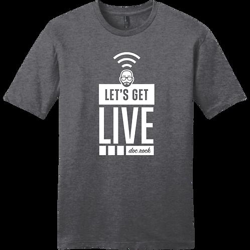 Let's Get Live - White