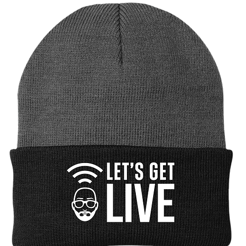 Let's Get Live - Beanie