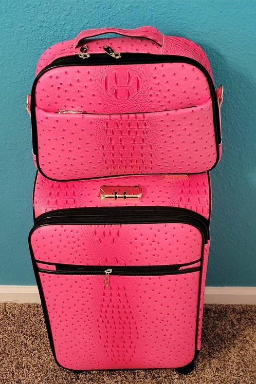 2pc Travel Set - Pink
