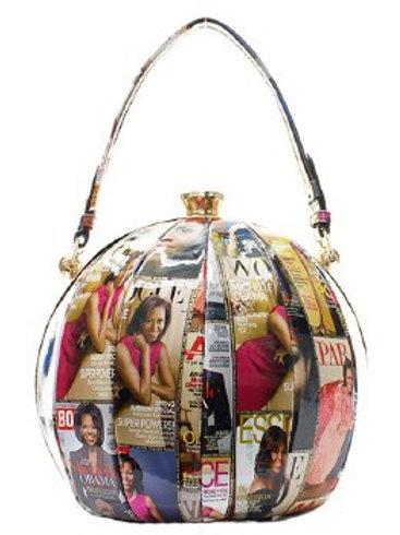 Michelle Obama Round Clutch Purse