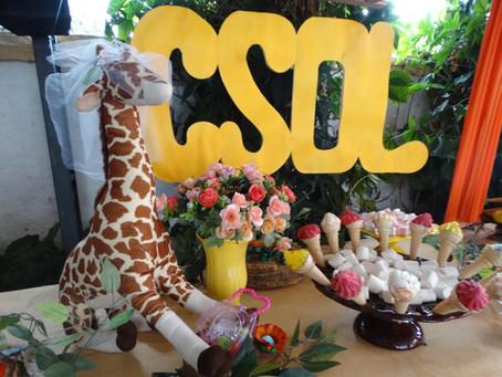 Alunos da CSOL foram recebidos pelos professores e pela Gi Rafa