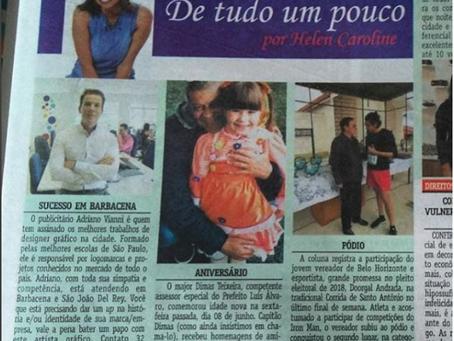 AVmais Comunicação é destaque no jornal Expresso de Barbacena