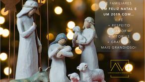 AVmais deseja a todos um Feliz Natal e um 2019 ainda MAIS grandioso!
