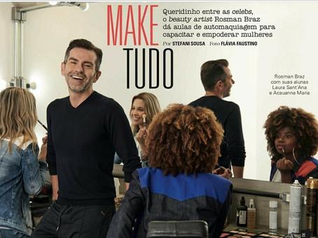 Make do bem! Rosman Braz é destaque na Revista Glamour de dezembro