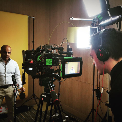 Directing in Dubai.