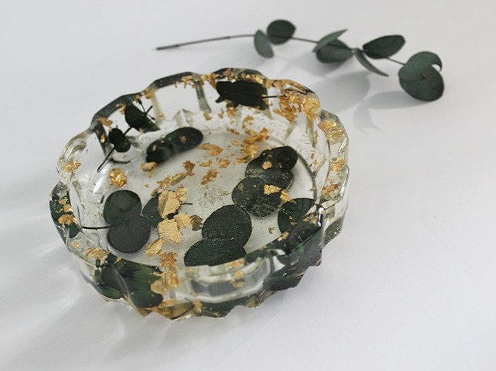 Black Eucalyptus Trinket Dish