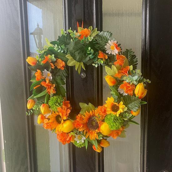 Sunshine Wreath.