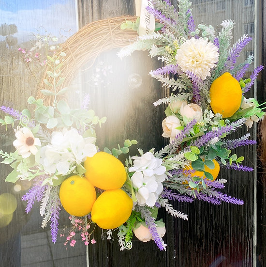 Lemonade Wreath