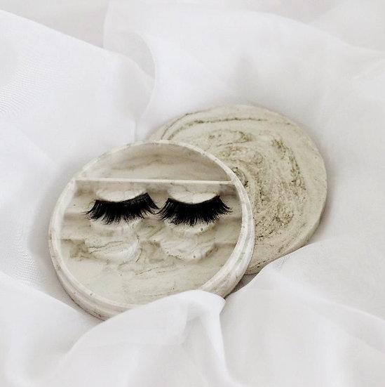 Marble Eyelash Tray