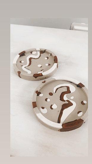 Latte Art Coasters