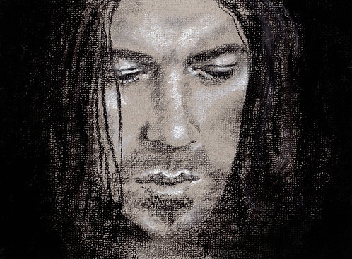 Print of original drawing of Christian Kane #5 by Sarah Caisey