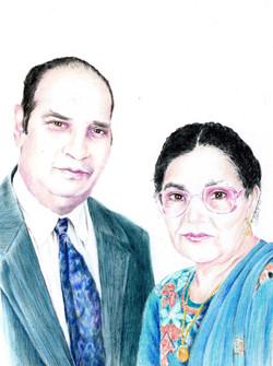 Jas's parents