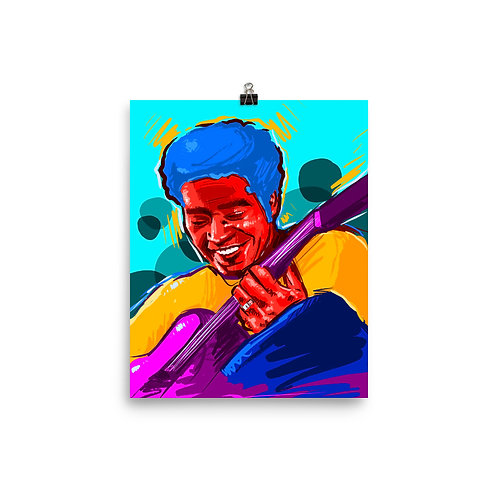 Soul Music - Photo paper poster