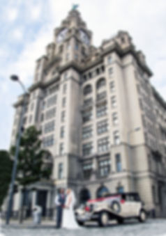 Regal Wedding Cars at The Royal Liver Buildings