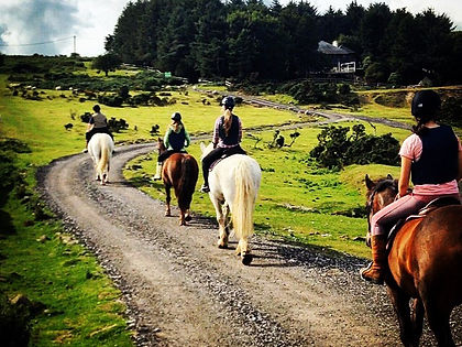 Horse riding in Cornwall