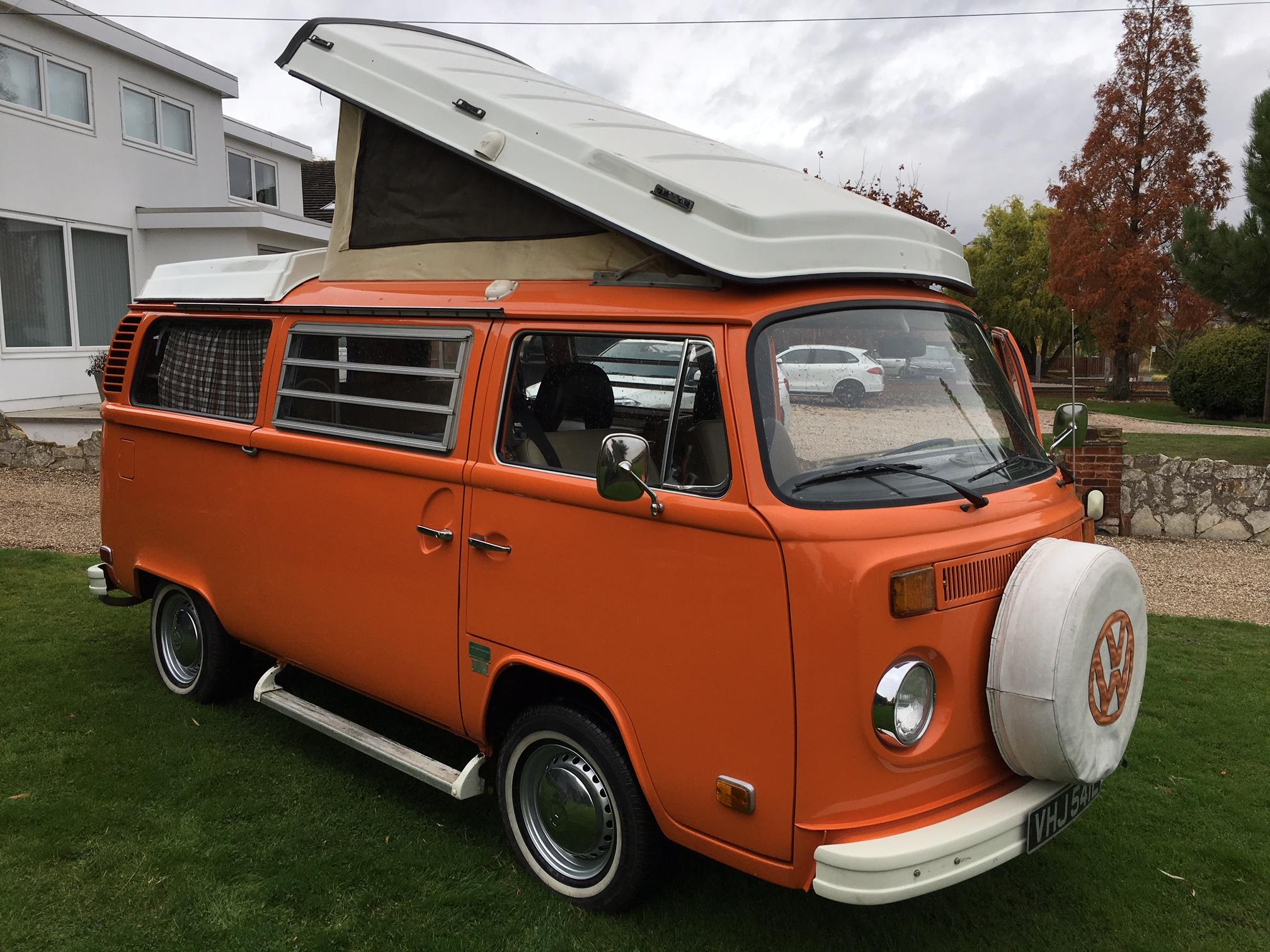 1973 LHD US Westfalia Camper Van