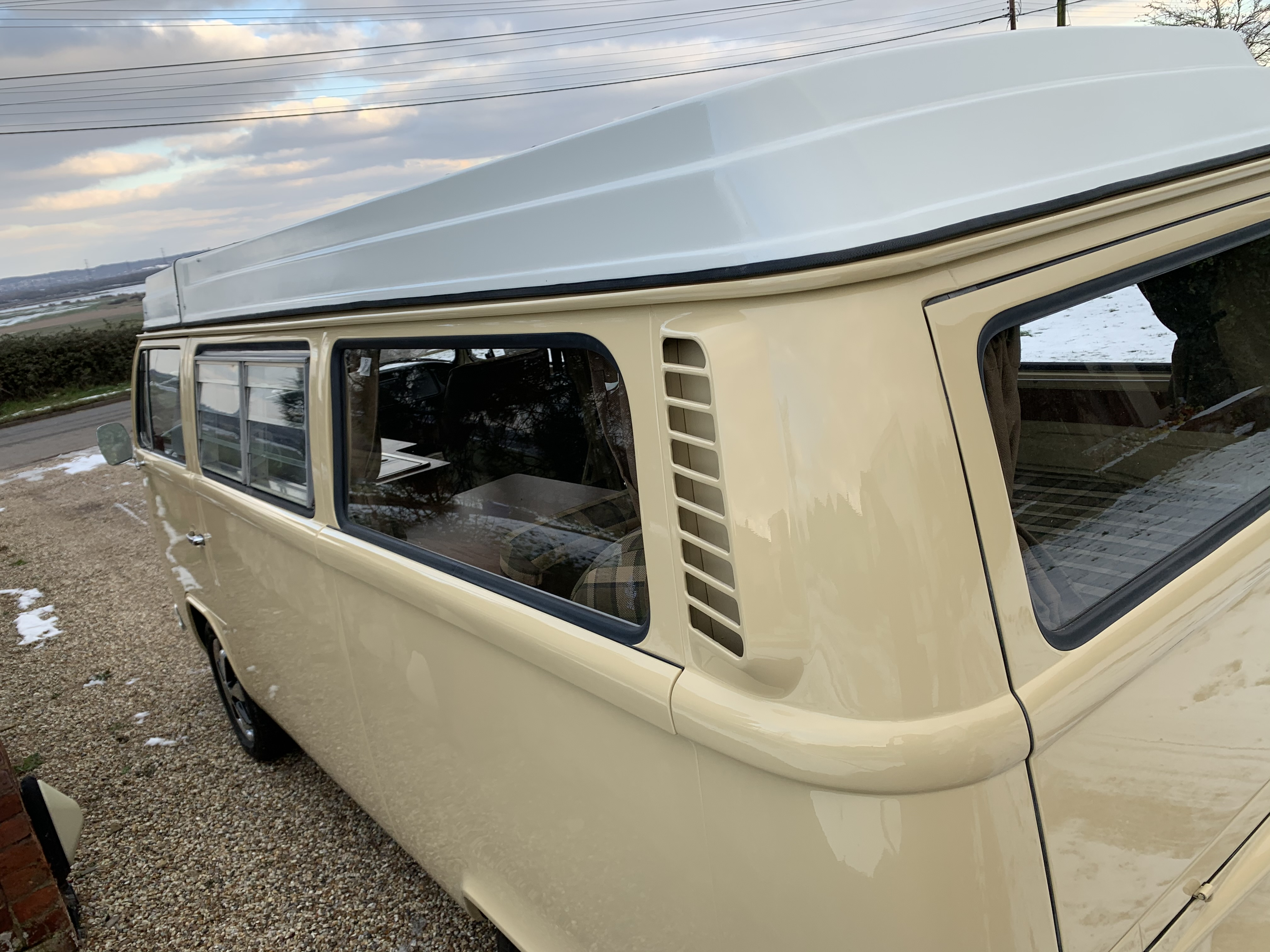 shinny vw campers