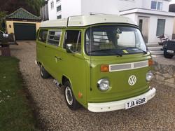 1978 Auto VW Westy Camper Van