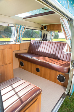 VW Bay Window Camper Van