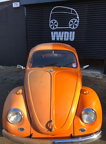 A Beetle Valet half and half