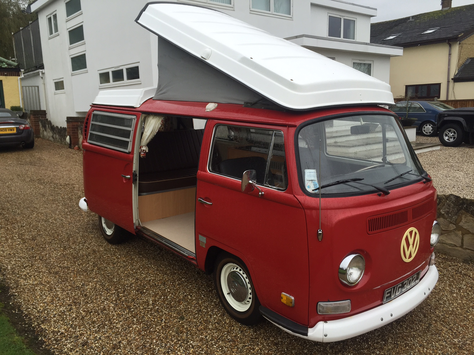 1971 Westfalia Camper Van