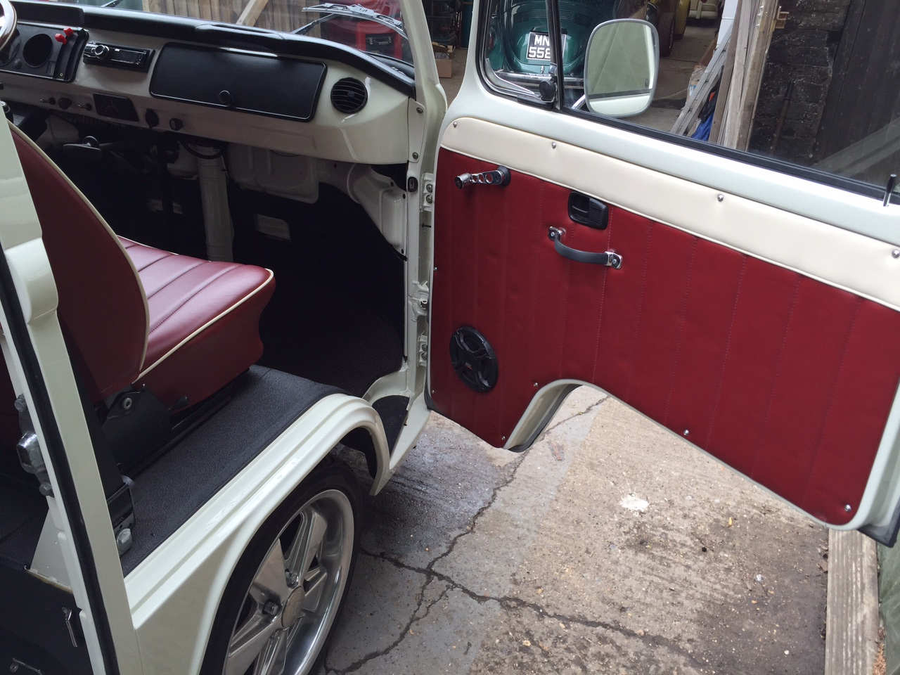 VW Westfalia Camper Van Door Lining