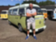 Van owner Eddie Small