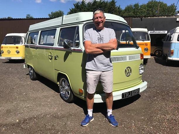 Van owner Eddie Small