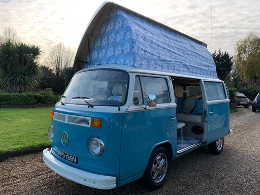 restored vw campevan