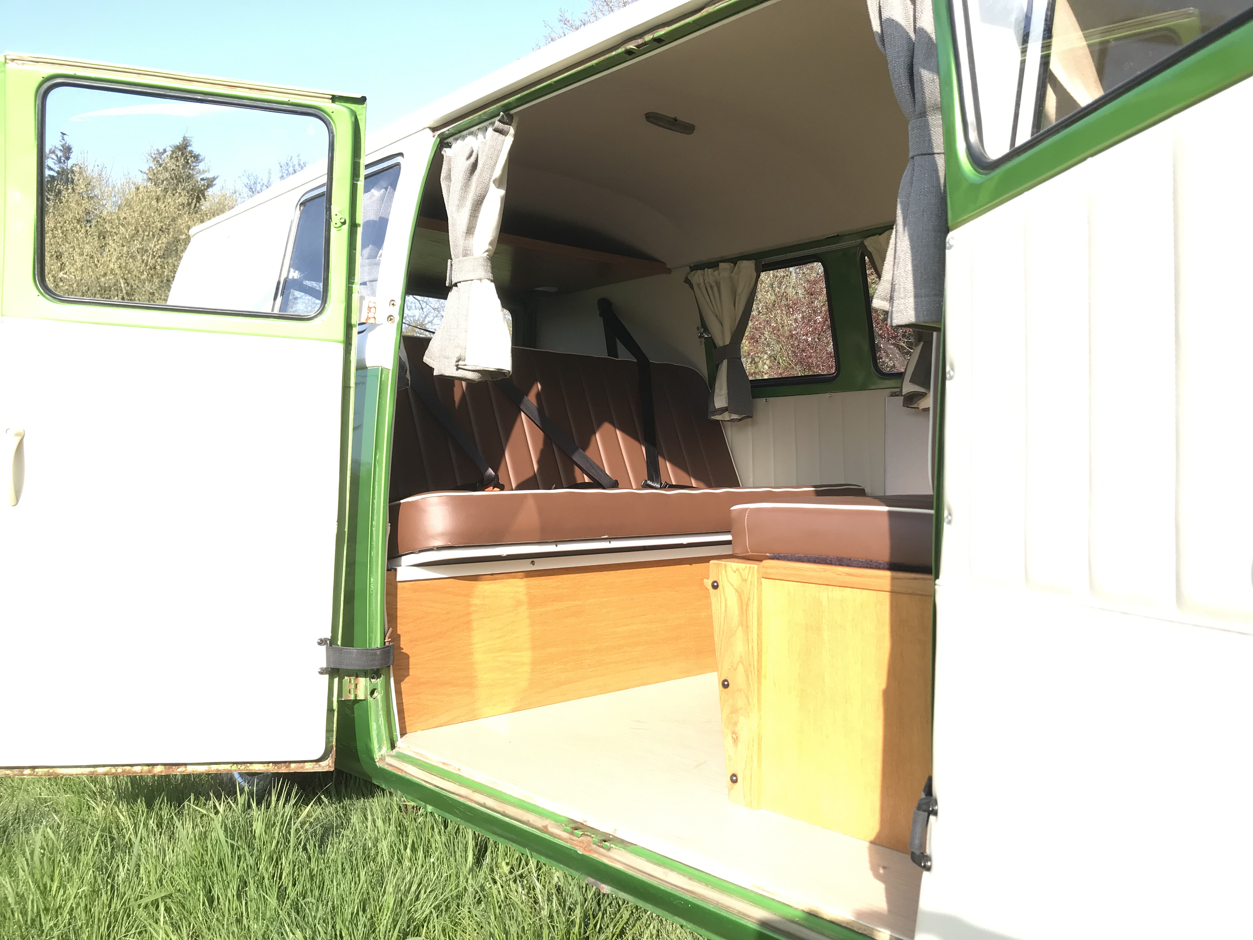 For sale vw splitscreen campervan