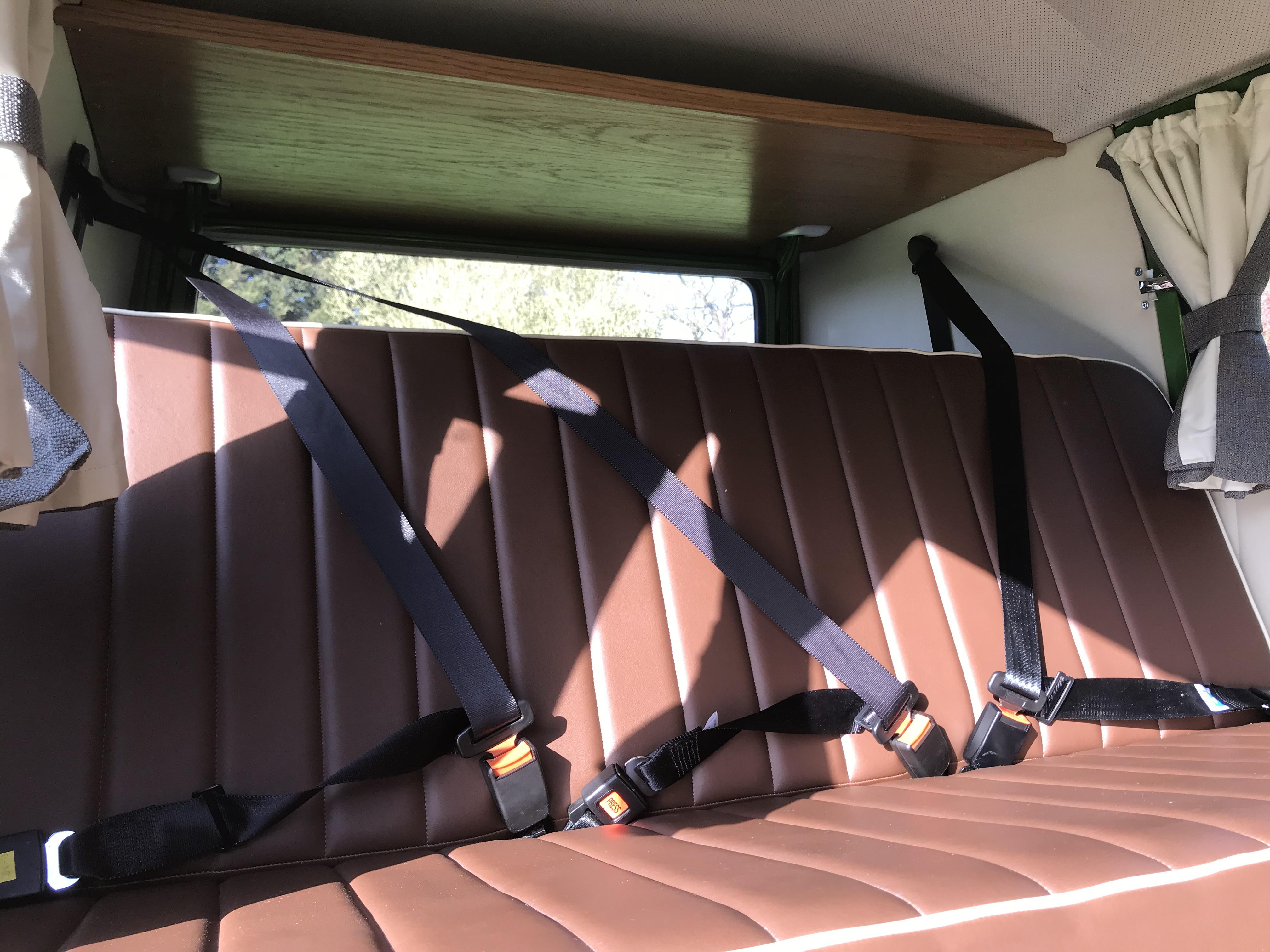 vw splitscreen camper interior